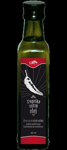 Paprikový olej – pikantný